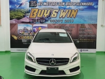 2015 MERCEDES-BENZ A-CLASS 2015 MERCEDES BENZ A180 1.6 AMG NIGHT EDITION UNREG JAPAN SPEC CAR SELLING PRICE ONLY RM 139,000.00