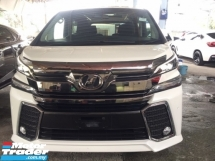 2016 TOYOTA VELLFIRE 2.5 ZA Z UNREG.FULLSPEC.INCLUDED SST.TRUE YEAR CAN PROVE.7 SEATS.3 POWER DRS N BOOT.JAPAN ALPHINE MONITOR.360 SURROUND CAMERA.LED DAYLIGHT N ETC.FREE WARRANTY N MANY GIFTS