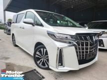 2018 TOYOTA ALPHARD 2018 Toyota Alphard 2.5 SC Facelift 3 LED Sun Roof Full Leather Pre Crash LTA DIM Power Boot Unregister for sale