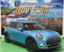 2015 MINI 5 DOOR 2015 MINI COOPER S 1.2A TWIN TURBO NEW FACELIFT JAPAN SPEC SELLING PRICE ( RM 113,000.00 NEGO )