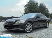 2011 MERCEDES-BENZ S-CLASS 3.0 V6 W221 Facelift PushStart 3DVD NAVI Powerboot Sunroof LikeNEW Reg.2012