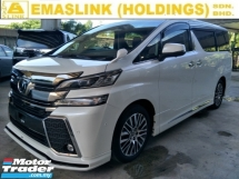 2016 TOYOTA VELLFIRE 2.5 SUNROOF PRE CRASH JBL SYSTEM 360 CAMERA AUTO CRUISE FREE WARRANTY