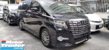 2017 TOYOTA ALPHARD 2.5SC / TIPTOP CONDITION ORIGINAL MILEAGE 5K+ / SUNROOF /