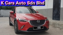 2017 MAZDA CX-3 2.0 2WD Skyactiv (CBU) Totally Like New Car Condition Original Paint Never Accident Before Ladies Housewife Owner Worth Buy