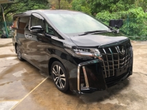 2018 TOYOTA ALPHARD Unreg Toyota Alphard SC 2.5 Facelift Pilot 7seats 360view PowerBoot Push Start 7G
