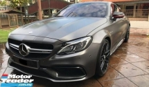 2016 MERCEDES-BENZ C-CLASS C63 AMG COUPE