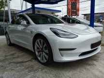 2019 TESLA MODEL 3 Dual Motor Performance Unreg Sale Offer