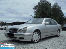 1998 MERCEDES-BENZ E-CLASS 2.8 AVANTGARDE W210 SUNROOF TIPTOP (RM) 9,800.00