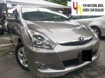 2006 TOYOTA WISH 2006/2011 Toyota WISH 1.8 G FACELIFT (A) 1 OWNER