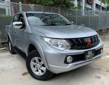 2016 MITSUBISHI TRITON 2.5 AT VGT Pickup Truck(TRUE YEAR MAKE)(2 YEAR WARRANTY)(ONW OWNER)(LOW MILEAGE)