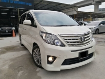 2014 TOYOTA ALPHARD 240S PRIME SELECTION II TYPE GOLD