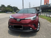 2018 TOYOTA C-HR 1.8L PREMIUM FACELIFT HIGH SPEC UNDER WARRANTY BY TOYOTA