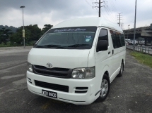 2011 TOYOTA HIACE 2.5CC diesel WINDOWNS VAN HIGHROOT PREMIUM SPEC 12SEATER