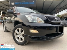 2012 TOYOTA HARRIER 2.4 240G L PACKAGE - HIGH SPEC - SUNROOF - ELECTRIC SEAT - REVESE CAMERA - LIKE NEW - SUPER CONDITION - WARRANTY - CNY 2020 SALE