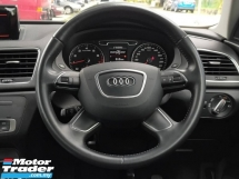 2015 AUDI Q3 2.0 TFSI QUATTRO FACELIFT (A) LED DAYLIGHT PUSH START BUTTON LEATHER SEAT ELECTRIC SEAT LED TAILAMP ONE CAREFUL OWNER