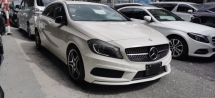 2014 MERCEDES-BENZ A-CLASS A180 1.6 AMG / NIGHT EDITION / 2 MEMORY SEATS / READY STOCK NO NEED WAIT
