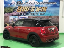 2014 MINI Cooper S 4 DOORS JAPAN SPEC 5 YRS WARRANTY UNREGISTERED - BUY & WIN PROMO