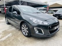 2013 PEUGEOT 308 PEUGEOT 308 THP TURBO PANAROMATIC 1 SENIOR MALAY OWNER