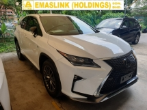 2016 LEXUS RX RX200T F SPORT PRE CRASH POWER BOOT LOCAL AP UNREG
