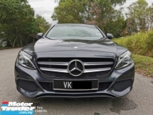 2016 MERCEDES-BENZ C-CLASS C180 1.6 (A) AVANTGARDE - FULL SERVICE / UNDER WARRANTY ( LIKE NEW )
