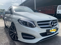 2015 MERCEDES-BENZ B-CLASS B200 1.6 (A) Facelift 33k Mileage Top