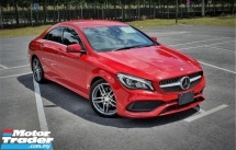 2016 MERCEDES-BENZ CLA 2016 MERCEDES BENZ CLA180 1.6 AMG FACELIFT TURBO  UNREG JAPAN SPEC CAR SELLING PRICE RM 183,000.00