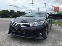 2015 TOYOTA COROLLA ALTIS 1.8 TRD FACELIFT PREMIUM FULL BODYKITS MODEL