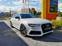 2016 AUDI RS6 AVANT WAGON 4.0L TWIN TURBO 560HP. HIGHEST GRADE CAR. GENUINE MILEAGE. RS4 RS5 M5 M6 R8 C63 E43 A45