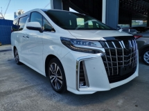 2018 TOYOTA ALPHARD 2.5 SC DIM PCS SR LKA Unreg Sale Offer