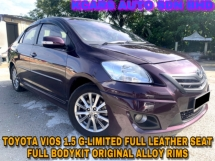 2012 TOYOTA VIOS 1.5G LIMITED (AT) LEATHER SEAT ORI SPORT RIMS