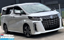 2018 TOYOTA ALPHARD 2.5  SC EDITION + SUNROOF/MOOROOF + 10 K MILEAGE ONLY + UNREGISTERED JAPAN IMPORTED PREMIUM LUXURY MPV