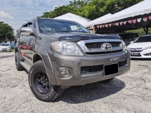 2009 TOYOTA HILUX DOUBLE CAB 2.5G (AT) NO OFF ROAD 4X4 1 OWNER NO REPAIR