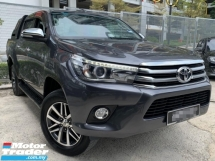 2016 TOYOTA HILUX 2.8 G Pickup Truck 4X4 DOUBLE CAB(TRUE YEAR MAKE)(LOW MILEAGE)((ONE OWNER)(2 YEAR WARRANTY)