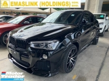 2016 BMW X4 2.0 M Sport SUV UNREGISTER SST INCLUSIVE 2.xx% INTEREST RATE UP TO 9YEARS POWERBOOT SURROUND CAMERA 20INCH SPORT RIM NEW ARRIVAL PRICE NEGOTIABLE