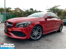 2016 MERCEDES-BENZ CLA 180 AMG DYNAMIC HANDLING PRE-CRASH JAPAN  UNREG