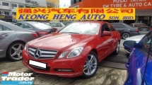 2011 MERCEDES-BENZ E-CLASS E250 CGI 1.8cc COUPE AVANT-GARDE (A) REG 2016, JAPAN SPEC, ONE CAREFUL OWNER, LOW MILEAGE DONE 42K KM, 100% ACCIDENT FREE, FREE 1 YEAR GMR CAR WARRANTY, 17