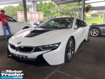 2016 BMW I8 Unreg BMW I8 1.5 eDrive Turbo Camera Hybrid Sport Car