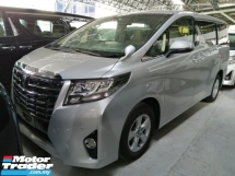 2016 TOYOTA ALPHARD 2.5 X/FREE 5 YEARS WARRANTY/OFFER/NON SMOKING