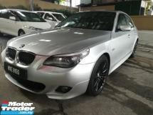 2008 BMW 5 SERIES 525i LCI MAG ENG M SPORT BLACK LEATHER RM37K OTR
