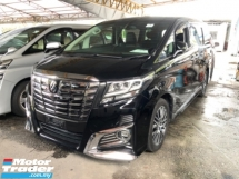 2015 TOYOTA ALPHARD Unreg Toyota Alphard SC 2.5 SunRoof Home Theater JBL Sounds Syetem Full Leather 360view PowerBoot