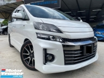 2014 TOYOTA VELLFIRE 2.4Z GS EDITION SPECIAL EDITION