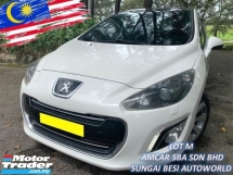 2015 PEUGEOT 308 1.6 THP FACELIFT (A) FULL SERVICE RECORD