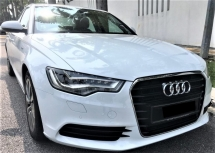 2014 AUDI A6 2.0 Hybrid Condition Tiptop 1Own DATO 1Jam Lulus Promotion Bank