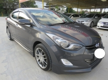2016 HYUNDAI ELANTRA 1.8 (A) GLS Nice no Plate 3222 One Owner Full Bodykit Leather Seat Push Start Accident Free High Loan Must View