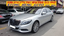 2015 MERCEDES-BENZ S-CLASS S400L HYBRID 3.5cc (A) REG 2016, ONE OWNER, FULL SERVICE RECORD, LOW MILEAGE DONE 47K KM, CAR UNDER MERCEDES BENZ MALAYSIA WARRANTY TIL APRIL 2020 & HYBRID BATTERY WARRANTY TIL 2024