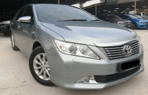 2013 TOYOTA CAMRY Toyota CAMRY 2.0 G (A) FULL SERVICE RECORD- LIKE NEW CAR- FULL LEATHER