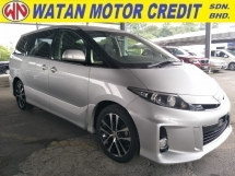 2015 TOYOTA ESTIMA 2.4 AERAS 8 SEATER NO HIDDEN CHARGES