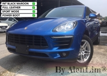 2015 PORSCHE MACAN 2.0 TURBO (UNREG) INT RED SUV MONSTER KING CHEAPEST IN TOWN