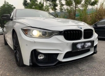 bmw 3series f30 m4 m3 bumper with fog lamp and lip bodykit material pp Exterior & Body Parts > Car body kits