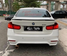 BMW F30 3SERIES MSPORT M4 SPOILER LIP ABS MATERIAL TAIWAN BODYKIT Exterior & Body Parts > Car body kits